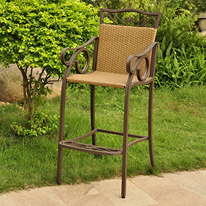 Valencia Honey Bistro Chairs, Set of Two