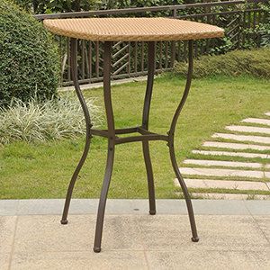 Valencia Honey Bar Height Table
