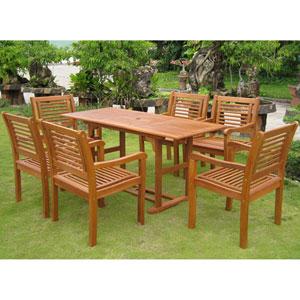 Royal Tahiti Cervera Rectangular Dining Set