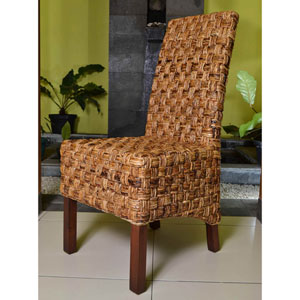 Victor Woven Abaca Dining Chair