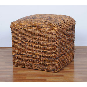 Square Twisted Arizona Ottoman