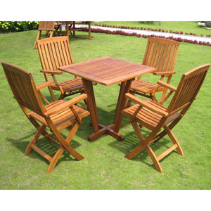Royal Tahiti Gibraltar 5-Piece Dining Group