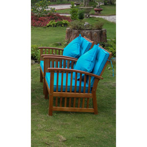 Royal Tahiti Set of Two Phuket Armchair with Cushions
