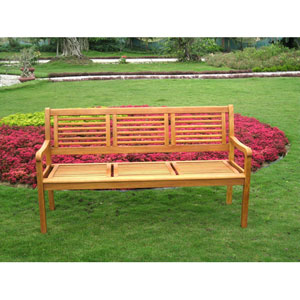 Bar Harbor Three-Seater Bench