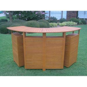 Royal Tahiti Outdoor Wood Fold Out Bar