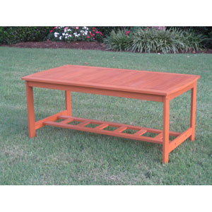 Royal Tahiti Gulf Port Rectangular Wood Coffee Table