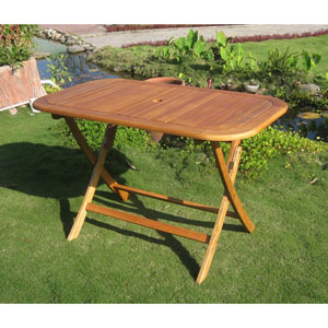 Royal Tahiti 48-Inch Rectangular Folding Table