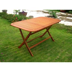 Royal Tahiti 60-Inch Rectangular Folding Table
