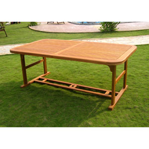 Royal Tahiti Double Butterfly Leaf Table