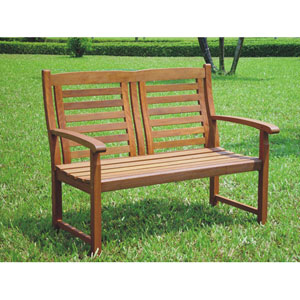 Trinidad Acacia Wood Outdoor Bench