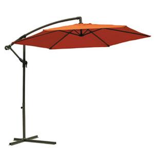 Terra Cotta Aluminum Cantilever Hanging Umbrella