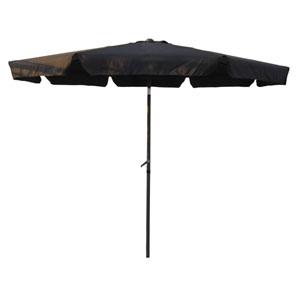 Outdoor 10 Foot Aluminum Umbrella with Flaps