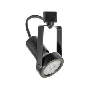 H-Type Black Par20 Gimbal Line Voltage Track Head