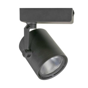 H-Type Black Cob LED 18 Degree Beam Angle 3000K LED Track Head