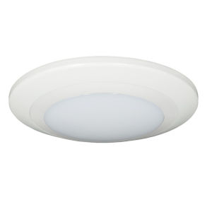 Relyence White 7-Inch 750 Lumen 3500K LED Flush Mount