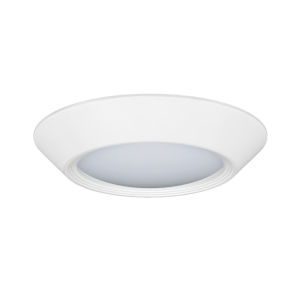 Relyence White 3-Inch 650 Lumen 3500K LED Flush Mount