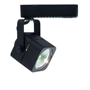 H Type Mini Deco Series Black One-Light Low Voltage Cube Track Head