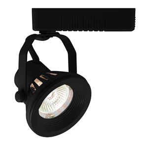 H Type Mini Deco Series Black One-Light Low Voltage Track Head with Double Yoke