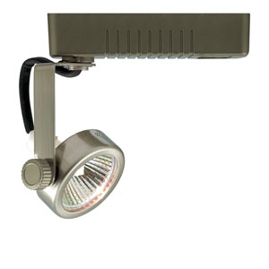 H Type Mini Deco Series Satin Chrome One-Light Low Voltage Track Head