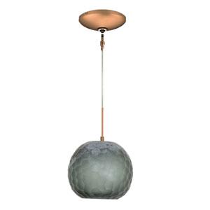 Envisage VI Bronze One-Light Low Voltage Mini Pendant with Smoke Shade