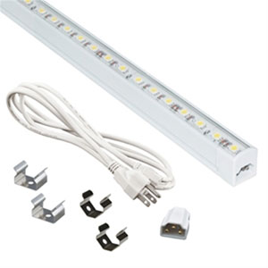 Jesco White 24-Inch Linkable LED Sleek Strip Kit