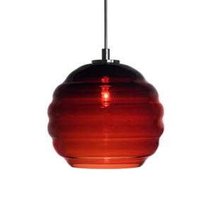 Beehave Large Chrome Quick Adapt Mini Pendant with Wine Glass