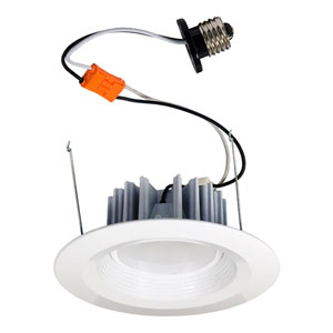 White 7-Inch One-Light LED Retrofit Module, 3000K