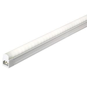 White 23-Inch LED Sleek Undercabinet Light with Switch, 3000K