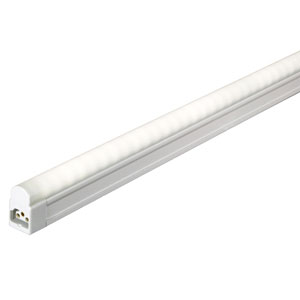 White 46.5-Inch LED Sleek Undercabinet Light with Switch, 3000K