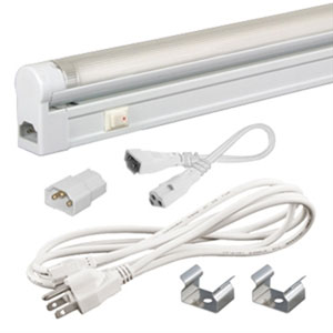 Jesco White Sleek Plus Adjustable Fluorescent Kit 21W 4100K