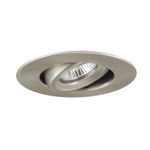 Satin Chrome 4-Inch Adjustable Gimbal Ring Trim