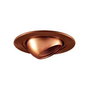 Antique Bronze 4-Inch Low Voltage Trim with Adjustable Eyeball