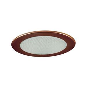 Antique Bronze 4-Inch Low Voltage Shower Trim with Albalite Glass