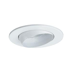 White 5-Inch Line Voltage Adjustable Eyeball Trim