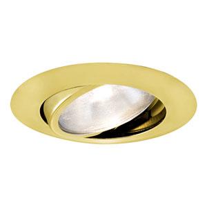 Polished Brass 6-Inch - Adjustable Gimbal Ring Trim