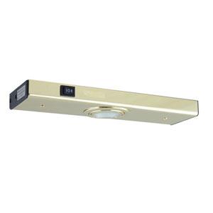 Polished Brass One-Light Xenon Minuet Light Strip