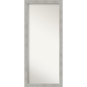 White 28-Inch Floor Mirror