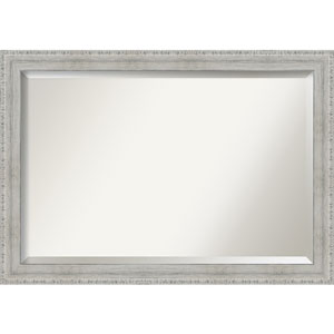 White 40-Inch Bathroom Wall Mirror