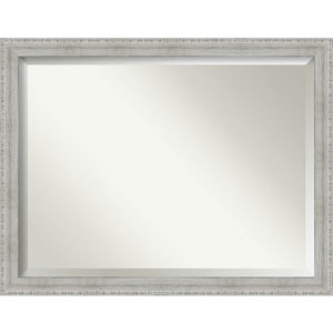 White 44-Inch Bathroom Wall Mirror