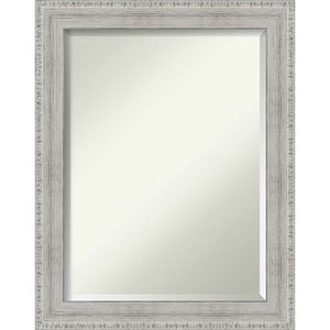 White 22-Inch Bathroom Wall Mirror