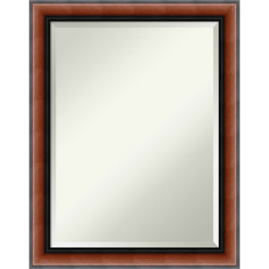Regency Mahogany 22W X 28H-Inch Decorative Wall Mirror