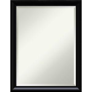 Steinway Black 21W X 27H-Inch Decorative Wall Mirror