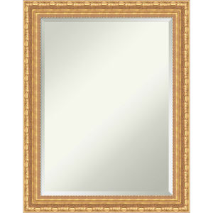 Versailles Gold 22W X 28H-Inch Decorative Wall Mirror