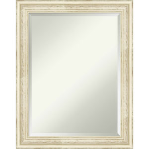 Country White 22W X 28H-Inch Decorative Wall Mirror