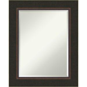 Milano Bronze 24W X 30H-Inch Decorative Wall Mirror
