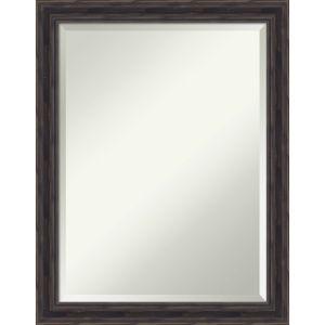 Brown 21W X 27H-Inch Decorative Wall Mirror