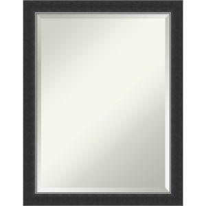 Corvino Black 21W X 27H-Inch Decorative Wall Mirror