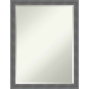 Dixie Gray 20W X 26H-Inch Decorative Wall Mirror