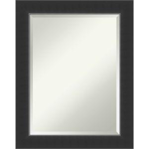 Corvino Black 23W X 29H-Inch Decorative Wall Mirror