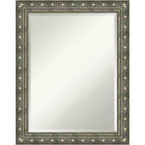 Barcelona Silver 22W X 28H-Inch Bathroom Vanity Wall Mirror